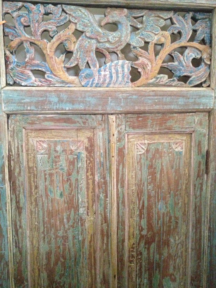 Distressed wooden door shabby chic pinterest for Distressed wood interior doors