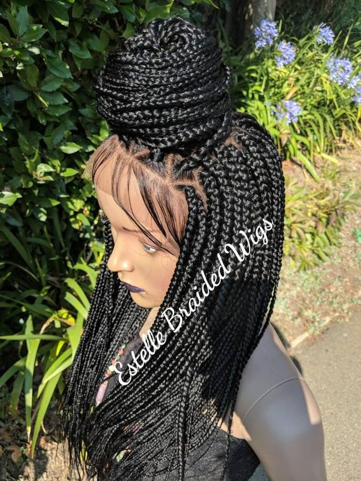 how to make a braided wig with closure
