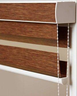 Roller blind from Zebra fabric. #roller_blind