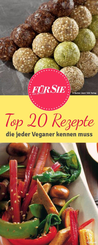Mittlerweile ernähren sich viele Menschen vegan, sprich ohne tierische Produkte. Wir zeigen leckere Rezeptideen von Attila Hildmann und weiteren Köchen.
