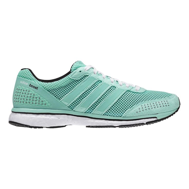 Be better than your best by giving your every stride a serious boost with the Womens adidas Adizero Adios Boost 2