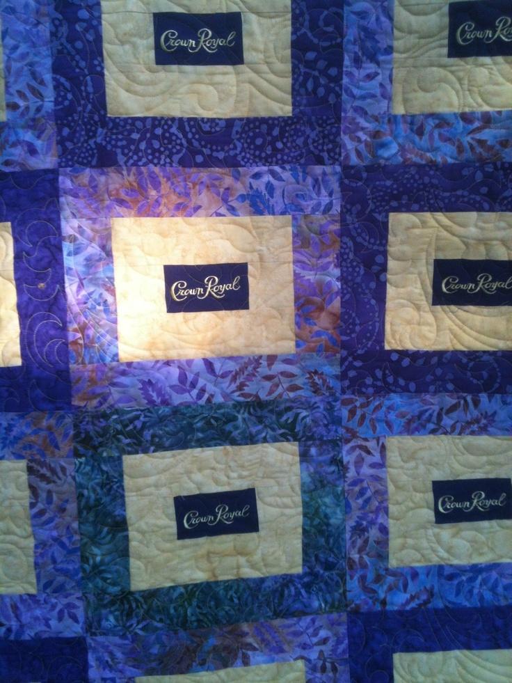 47 Best Images About Crown Royal Quilt Ideas On Pinterest