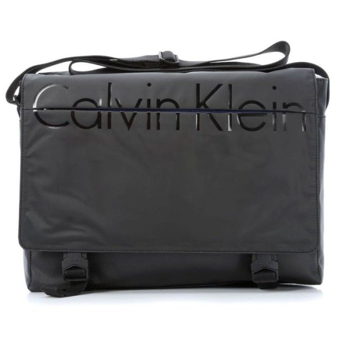 CALVIN KLEIN JEANS Logan Messenger With Flap K50K500208 Nero