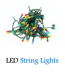 Small strings of solar or battery operated light strings are ideal. These cheap battery operated string lights are great for focal points.