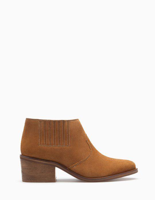 Mujer Botines De Mujer Baja Lycra Elástico Tacón Alto Gatito Zapatos Trabajo Oficina Talla - Gris Topo, Mujer, 7 Uk / 40 Eu