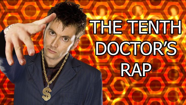 [DWPoop ♪] The Tenth Doctor's Rap