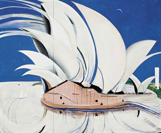 The Opera House, Brett Whitely, 1982http://www.abc.net.au/news/stories/2007/05/07/1916622.htm