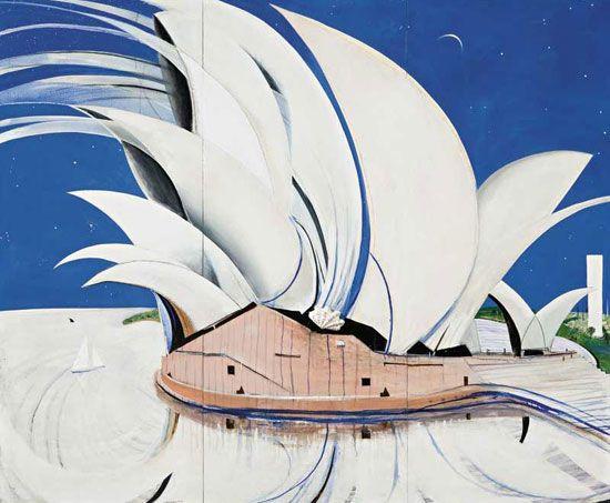 The Opera House, Brett Whitely, 1982http://www.abc.net.au/news/stories/2007/05/07/1916622.htm