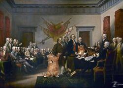 John Trumbull, Declaration of Independence / Джон Трамбулл, Декларация независимости