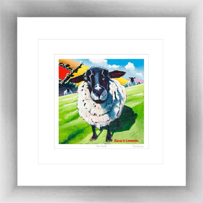 'Over The Hill' by Eoin O'Connor, framed & mounted, also available in various sizes as a framed print or box canvas. www.spiresart.com