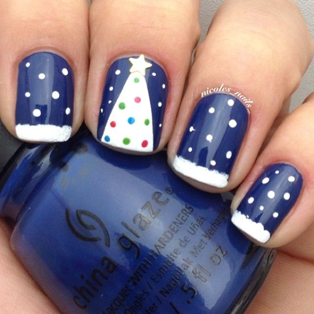 Christmas by nicoles_nails_ #nail #nails #nailart