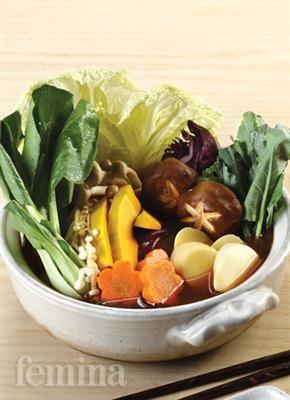 Femina.co.id: Hot Pot Sayuran (Korea) #resep