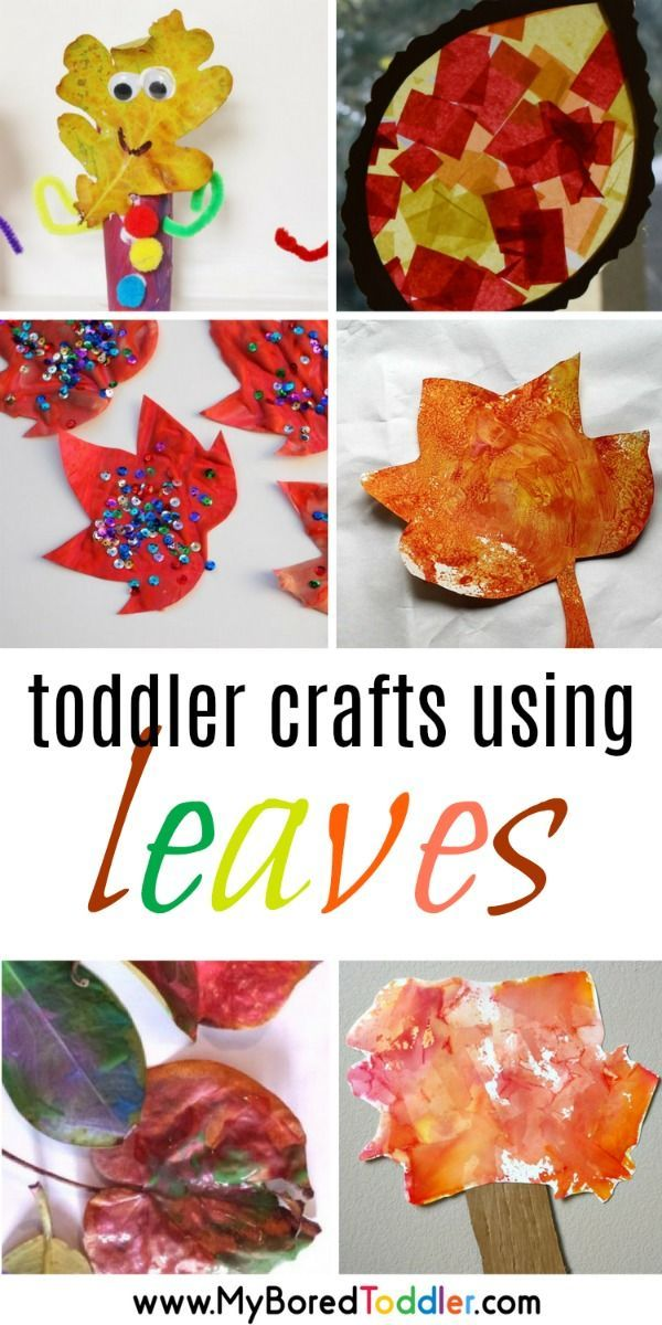 Leaf Craft And Activity Ideas For Toddlers Autumn