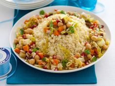 gran cous cous vegetariano Sale&Pepe ricetta