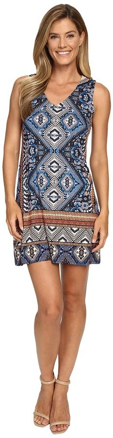 Karen Kane Yucatan Tile Dress