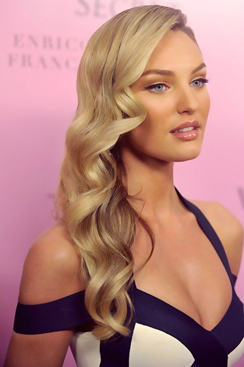 Candice Swanepoel perfect wavy hair http://www.luvtolook.net/2013/05/candice-swanepoel-perfect-wavy-hair.html