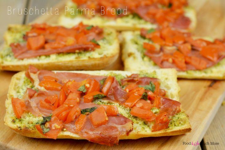 bruschetta parma brood