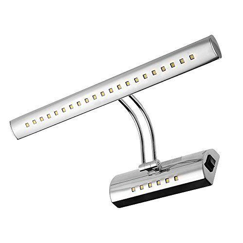 CroLED® Lampe Ampoule 6W 5050SMD 27 LEDs Blanc Salle de Bain Miroir Mur + Interrupteur Pour Tableau Mur Mural Applique