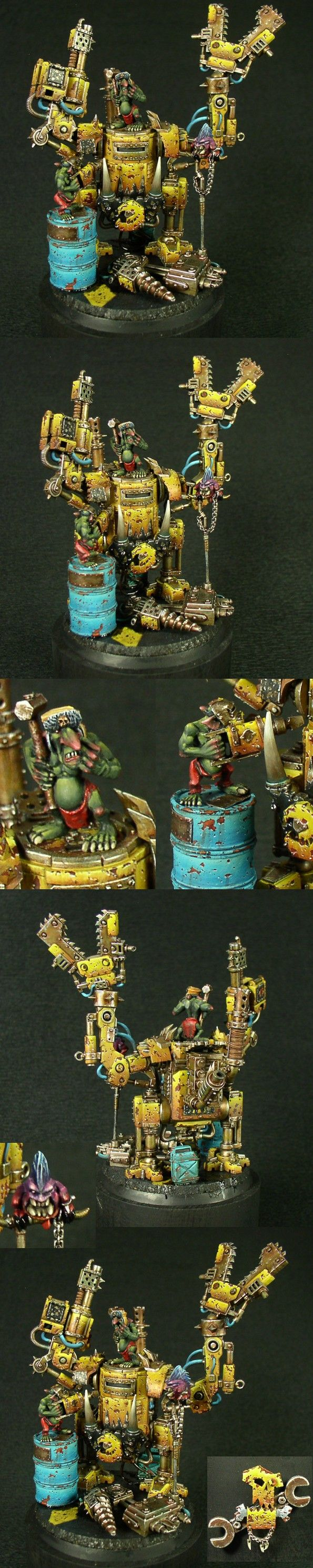 Upkeep - Gold Demon@ Italian GD2011  Manufacturer: Games Workshop