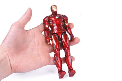 "Kids Toy Marvel Avengers Endgame Iron Man Spiderman Captain 7/"" PVC Action Figure"