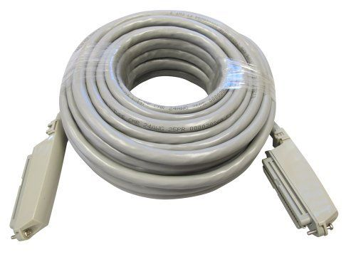 Allen Tel 25-3-CC-75-GY Plug In Connector Cable Patch Cord, 75-Foot Length, 90 Degree Female Connector At Both Ends by Allen Tel. $102.67. From the Manufacturer                Allen Tel Products Inc. offers a complete line of plug-in connector cables. They are available in 25 pair with various plug, connector and length combinations. Conductors are 24 AWG bare solid annealed copper wire. Polyvinyl chloride is used as insulation over the conductors. It is semi-rigid heat...