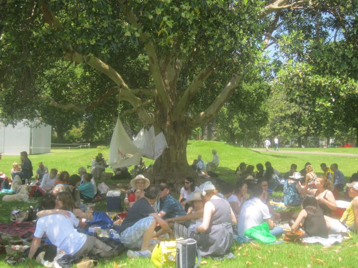 Christmas Day Picnic Lunch in Victoria Gardens