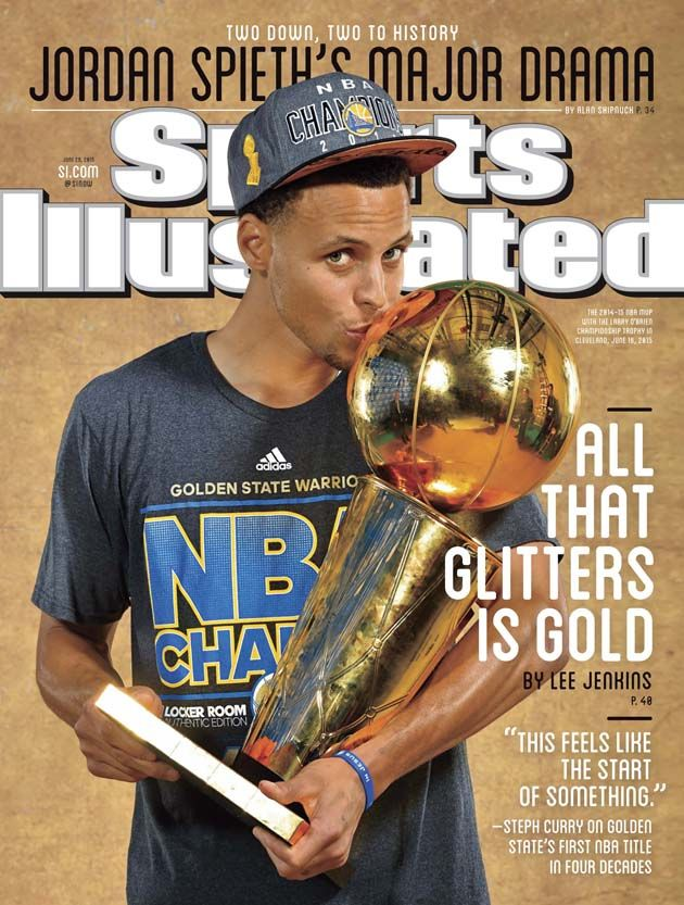 Warriors Guard Stephen Curry Featured on Regional Cover of Sports Illustrated | Golden State Warriors