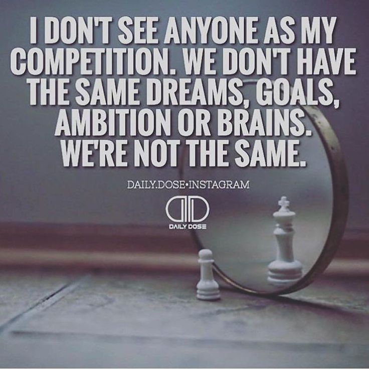 You can't compete where you don't compare. Move on.