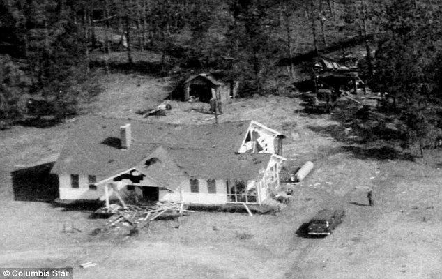 The U.S. Air Force accidentally dropped a nuclear weapon on to a little girl's playhouse in 1958… in South Carolina