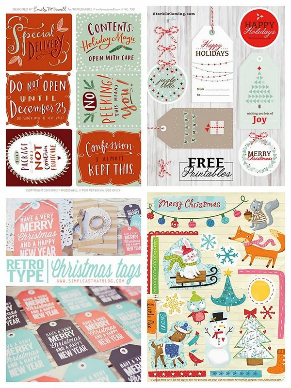 280 best christmas printables images on pinterest christmas images 45 free christmas printables negle Images