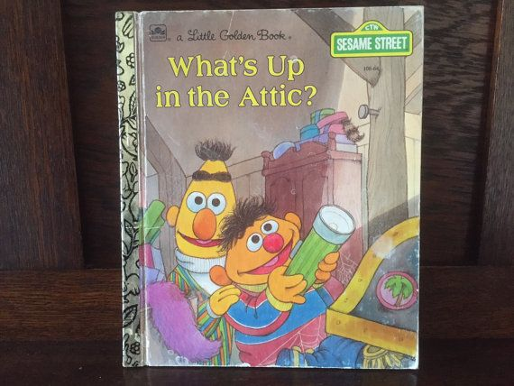 1980s Vintage Children's Book What's Up in by BanterVintageBooks