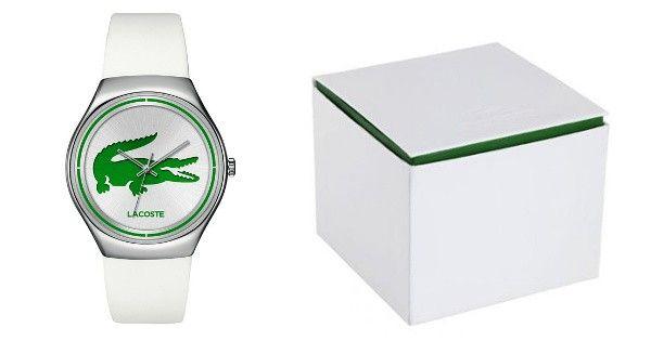 Si quieres comprar relojes de marca baratos, aprovecha este chollo para conseguir un reloj Lacoste de mujer modelo Valencia, con un descuento del 51%.