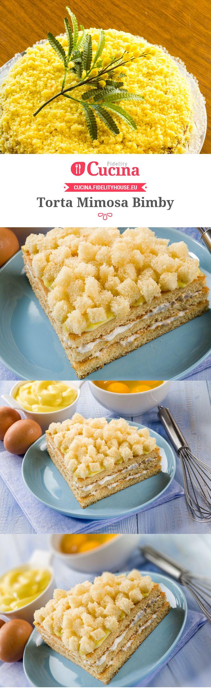 La #torta #Mimosa #Bimby è una versione della ricetta originale adattata all'uso del Bimby.