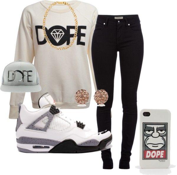 """Dope Swag"" by shinebrightlikeadiamondd ❤ liked on Polyvore"