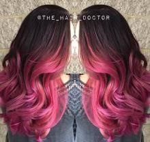 """""""This ombre started off as a correction three months ago,"""" says Gina Bianca (@the_hair_doctor) of Gina Bianca Hair (@ginabiancahair), Southington, Connecticut. """"We went in and blended all of her lines and gave her a gorgeous rose gold to accentuate the warmth she still had."""""""