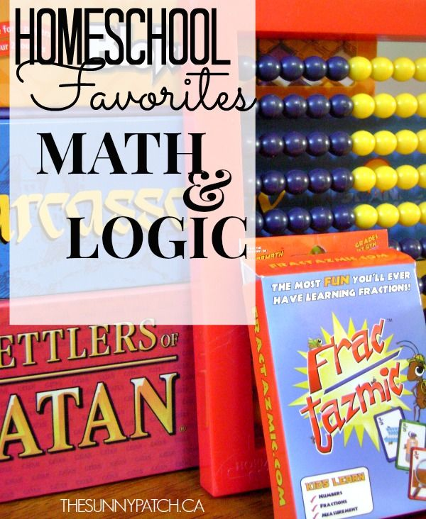 I love adding math & logic games to our day. It's so much more fun to do math drill with a fun game than a worksheet! Check out this awesome list of resources!