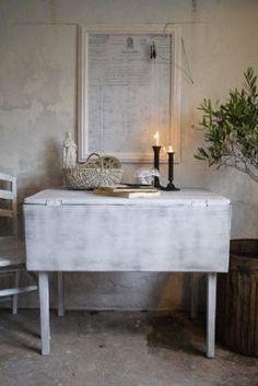 Afbeeldingsresultaat voor uitklapbare tafel aan muur