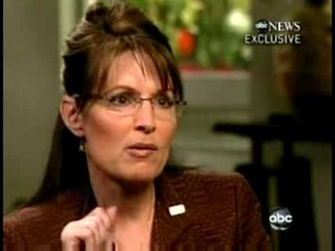 Asked about the Bush Doctrine... Palin is clueless