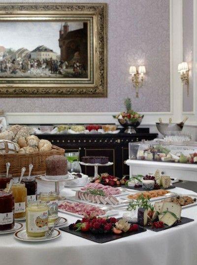 Hotel Sacher Wien,Salzburg Breakfast