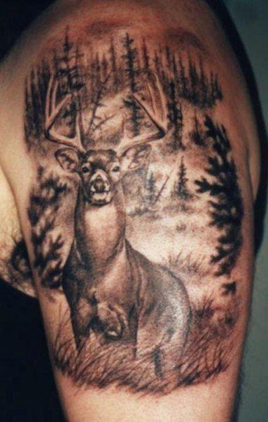 Охотничьи татуировки!