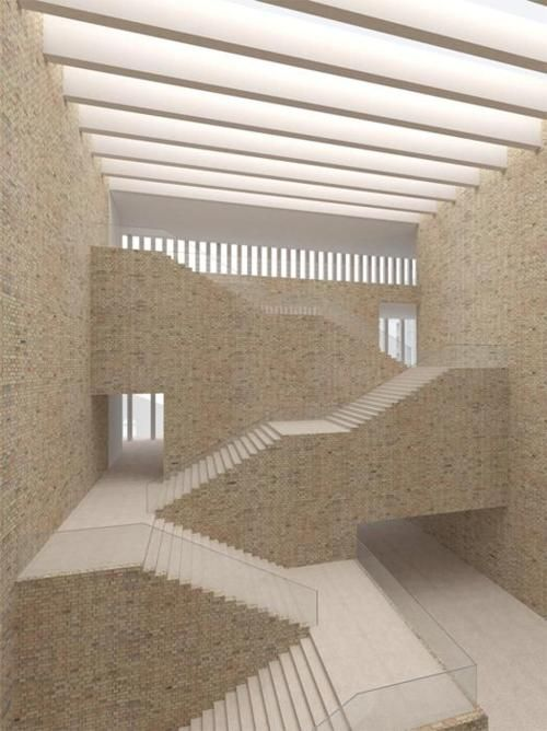 M9 Cultural Pole by David Chipperfield Architects.