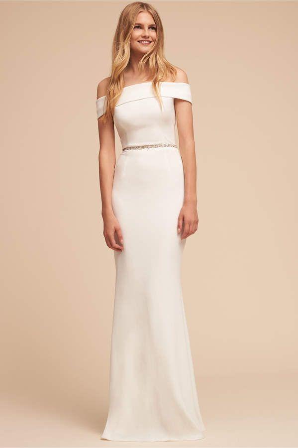 Lovely wedding dress. So simple and elegant! Legacy Dress afflink ...