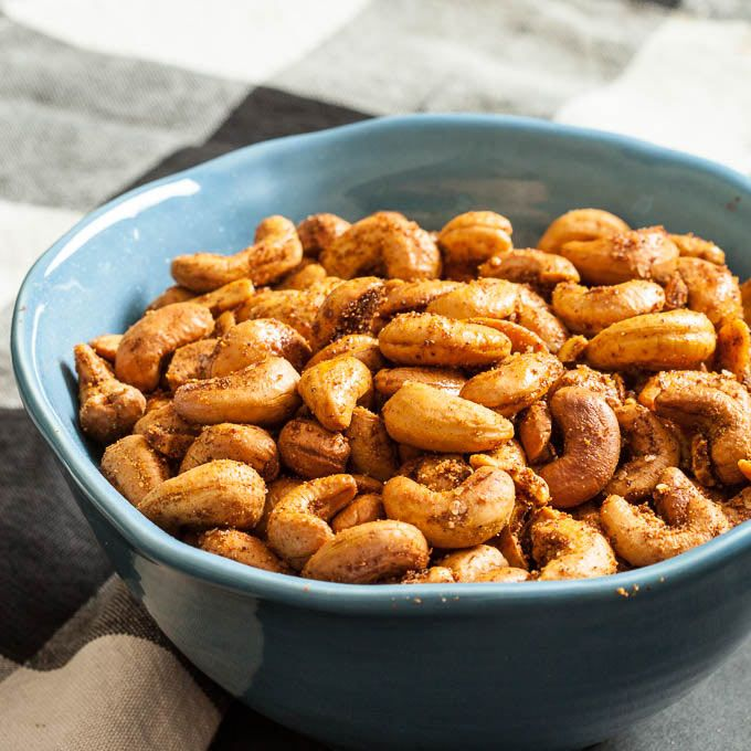Put out a batch of Curry Roasted Cashews for a fun & deliciously nutty flair at your next party. Crunchy, flavorful, and healthy to boot.