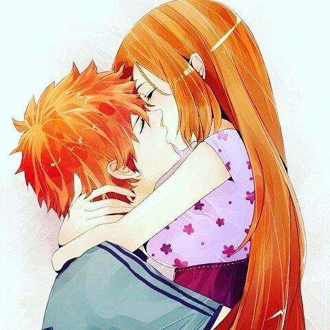 ICHIHIME FOREVER #ichihime #orihime #ichigo #kawai #cute #animegirl #animeboy #another #mirainikki #lovestage #elfenlied #noragami #tokyoghoul #naruto #bleach #pokemon #dragonball #danatikosgdsofc #superonze #rukia #orihime #anime #mangá by animes_it