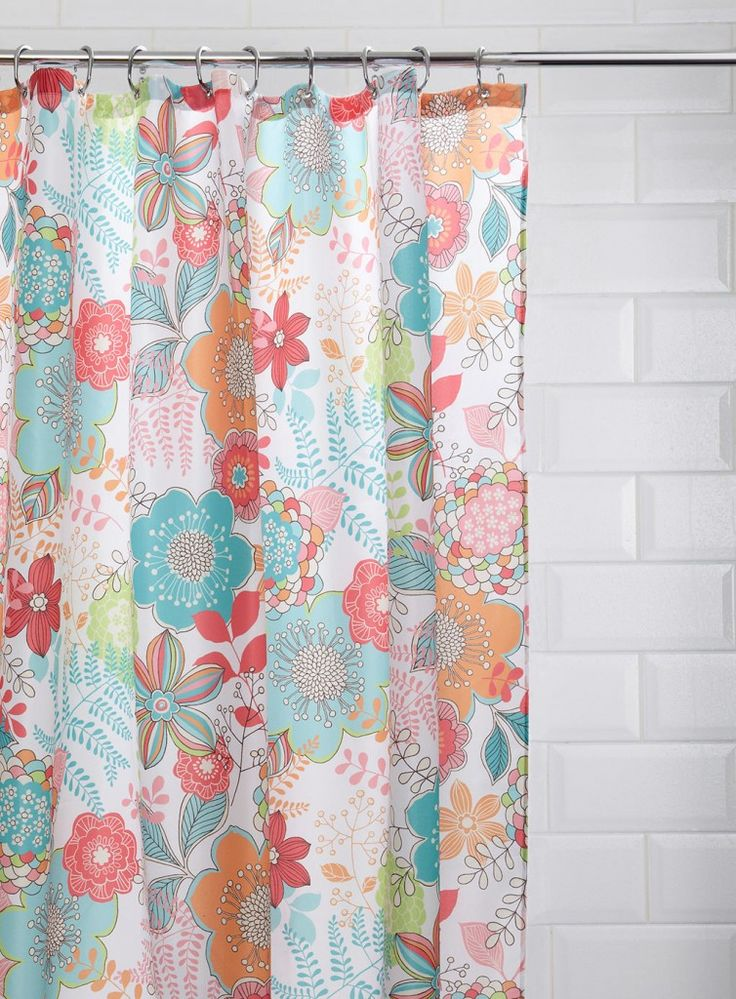 floral shower curtain bathroom accessories home lighting furniture