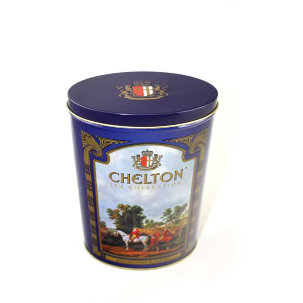 custom printed oval biscuit tin cases
