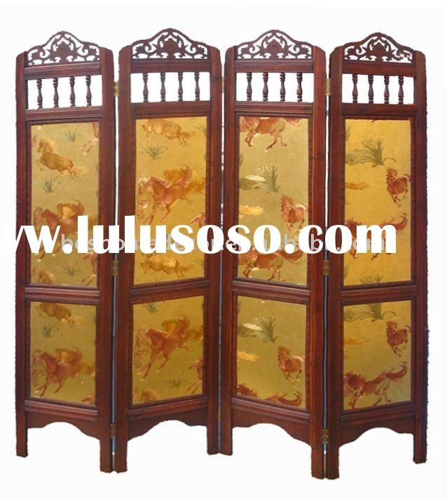 antique room divider screens from china as a headboard