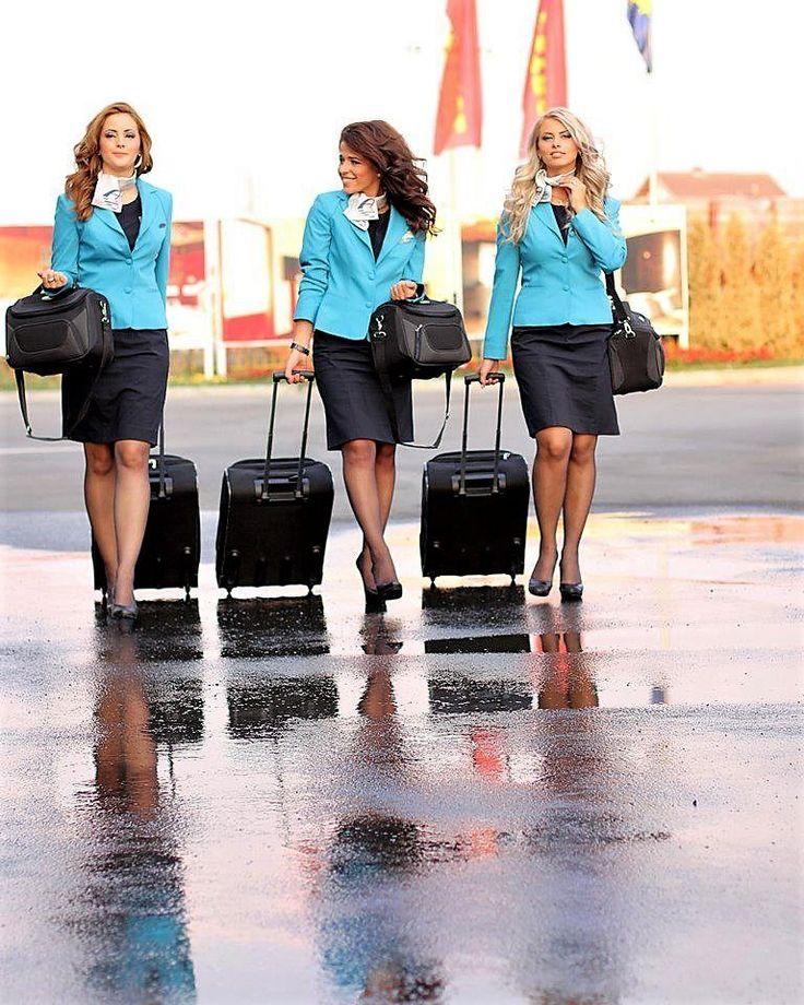 stewardesses #aviationglamourairports
