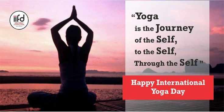#YOGA is The Journey Of Self, To The Self, Through The Self!!  Happy International YOGA Day!!  #YOGADay #IIFD #HappyInternationalYOGADay For #Admission_Process Call @+91-9041766699 OR Visit @ www.iifd.in/  #iifd #best #fashion #designing #institute #chandigarh #mohali #punjab #design #admission #india #fashioncourse #himachal #InteriorDesigning #msc #creative #haryana #textiledesigning