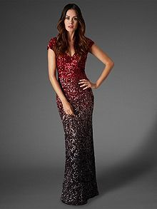 Collette sequin full length dress @houseoffraser #Alliwantforchristmasfromhof